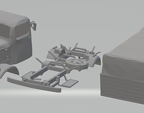 Mercedes L300 Printable Truck