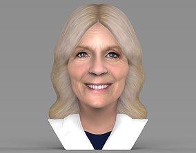 Jill Biden bust ready for full color 3D printing