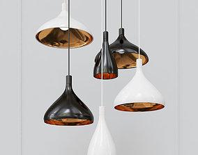 Modern Pendant Lights 3D model