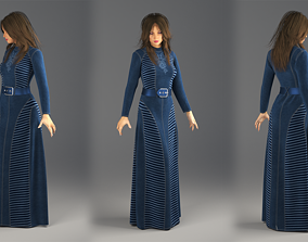Jeans Dress Marvelous Designer and 3ds max and