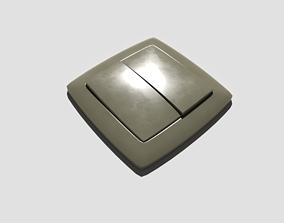Light Switch Double 3D model