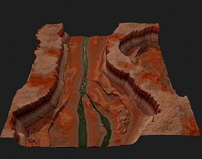 CANYON HIGH QUALITY GAME READY 3D asset low-poly