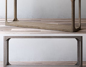 MARTENS RECTANGULAR CONSOLE TABLE 3D