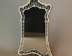 Art Deco Mirror 3D wall-mirror
