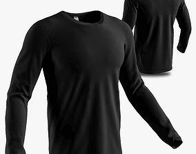 long sleeve shirt 3D