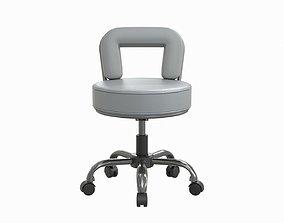 salon chair 3D model realtime