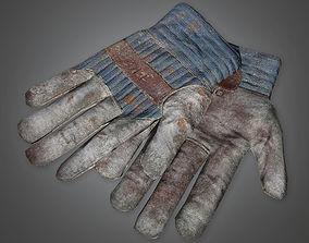 Work Gloves TLS - PBR Game Ready 3D asset