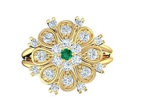 1775 Diamond Ring 3D printable model