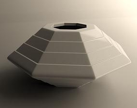 Small flowerpot 3 3D print model
