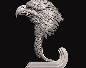 Eagle bust 3D printable model