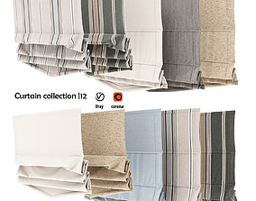 3D model Curtain collection 12