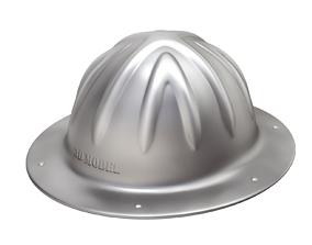 ratchet Vintage Skull Bucket Aluminum Hard Hat 3D