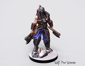 3d Printable Nordic Warrior Miniature