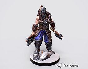 3d Printable Nordic Warrior Miniature