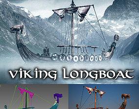 Viking Longboat 3D