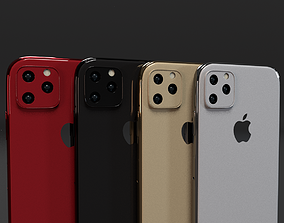3D model iPhone 11 iPhone 11 Pro iPhone 11 Pro Max In 2