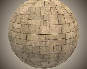Ancient Brick Substance One 3D model