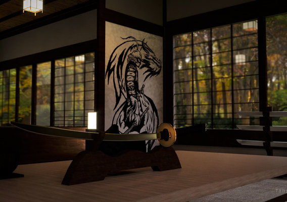 Samurai Interior room
