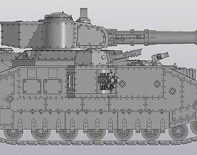 Super Heavy Tank construction set 3D printable model