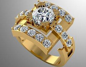 3D print model Ring akr 8