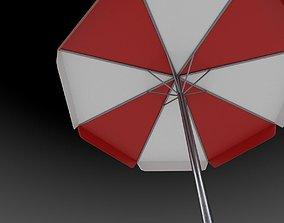 Patio Umbrella 3D model low-poly