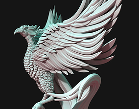 Phoenix bird 3D printable model