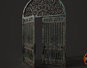 3D asset realtime Old Gate-01A V001