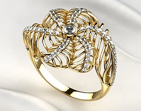 3D print model Seashell Beautiful Gold Ring