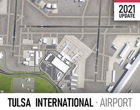 Tulsa Airport 3D asset