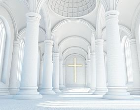 Cathedral Interior 3 3D model