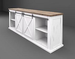 Farmhouse cabinet 3D model
