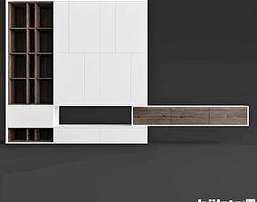 Hulsta Worhnwand Living Room 3D