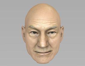 3D Patrick Stewart