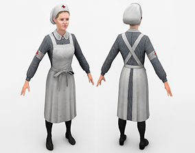 Nurse 3D asset