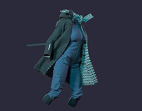 3D model Modern and Designer Jacket and