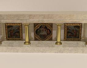 church altar 3D model