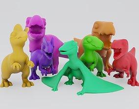 3D print model Cute Carnivores
