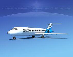 3D Douglas DC-9-30 Air South