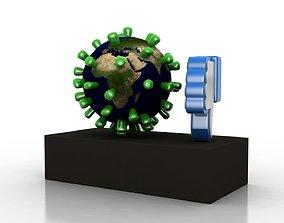 3D asset Coronavirus consequences