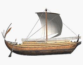 Greek Freight Ship 3D