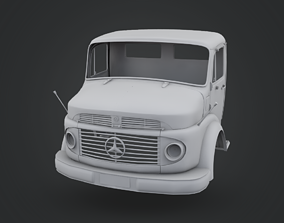 Mercedes-Benz Truck 1924-2624 Cabin 3D print model