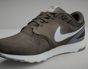 3D model Nike sport shoe low poly