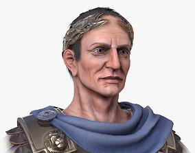 Lowpoly Gaius Julius Caesar 3D model