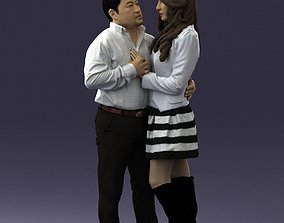 color Couple in love 0209 3D Print Ready