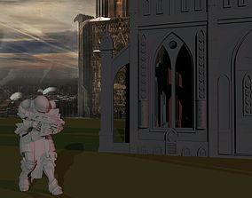 3D print model Sisters of War - Sanctifier D