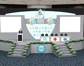 3d Stage Decor 006