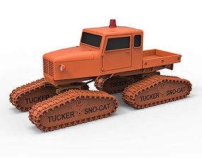 Diecast model Tucker Sno-Cat 442a Scale 1 to