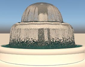 decoration 3D model Water Fountain
