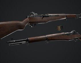 3D model PBR - M1 Garand