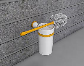 3D model Toilet Brush and Holder